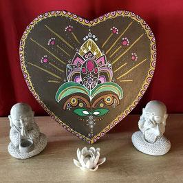 Tableau coeur de Lotus