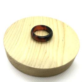Bague anneau en cornaline