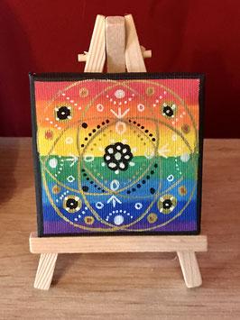 Tableau Cercle magique Justice