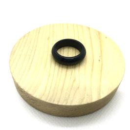 Bague anneau en onyx