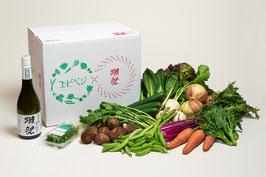 エビベジ野菜セット 大 + 獺祭 純米大吟醸 磨き三割九分 720ml