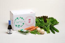 エビベジ野菜セット 小 + 獺祭 純米大吟醸 磨き二割三分 180ml