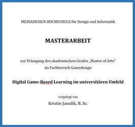 (Digital) Game-Based Learning im Unterricht