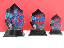 E-Dart Acryl Pokale