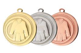 Judo Medaille 45 mm inkl Halsband