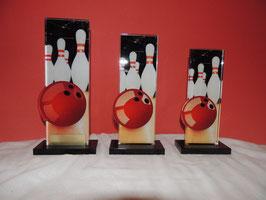 Bowling Acryl Aufstell Pokale