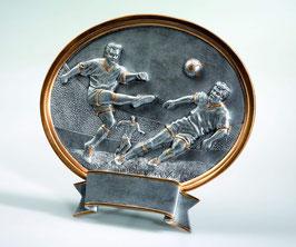 Sportfigur Plakette Fußball