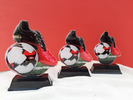 Pokale 3er Serie Fußball Pokale Acryl