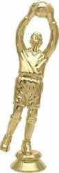 Sportfigur Torwart 150 mm Gold