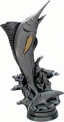 Sportfigur Angeln Hochseeangeln Größe 136 mm