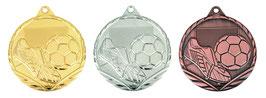 Fußball Medaille 45 mm inkl Halsband