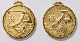 Medaille Golf inkl Halsband