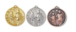 Leichtathletik  Medaille 45 mm inkl Halsband