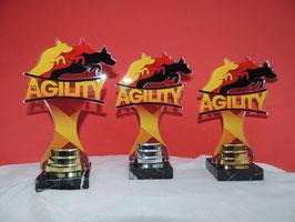 Hundesport Agility Acryl Pokale