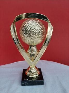 Pokal Golf gold