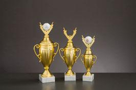 Figurencups Golf gold