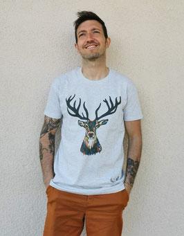 Tee-shirt Homme Cerf