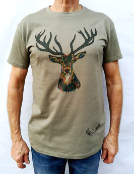 Tee-shirt Homme Cerf