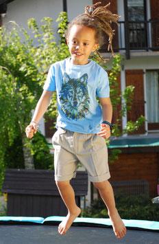 Tee-shirt Enfant Loup