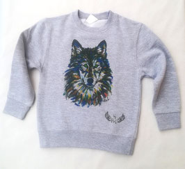 Sweat Enfant Loup