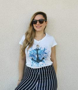 Tee-shirt Femme Ancre