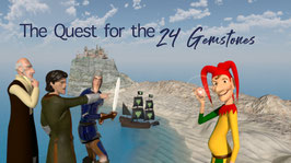 The Quest for the 24 Gemstones / e - book