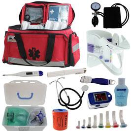 Notfallrucksack als Tasche, gefüllt (für Profis)