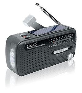 Weltempfänger Radio (inkl. Taschenlampe und Handylader)