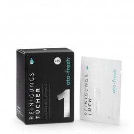 oto-fresh® Reinigungstücher - einzeln verpackt