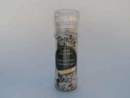 Sal con aceitunas negras / Salz mit schwarzen Oliven (Mühle)