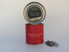 Sal con aceitunas negras / Salz mit schwarzen Oliven
