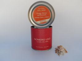 Sal con naranja-limon y romero /Salz mit Orangen-Zitrone und Rosmarin