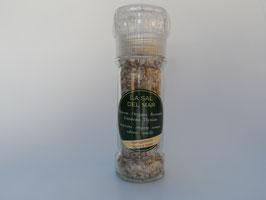 Sal con hierbas mediterraneo / Salz mit mediterranen Kräutern (Mühle)