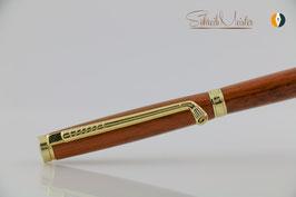 »Finley« Golf Pen, Schlangenholz, Gold