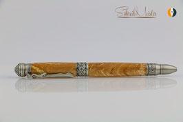 »Yoga Pen«, gestockte Birke XG, Antik Zinn