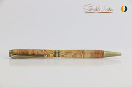 »Finley«Kugelschreiber, Apfel extrem gestockt, XG, Bronze