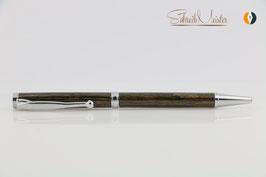 »Finley«Kugelschreiber, Mooreiche, Chrom