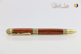 »Yoga Pen«, Cocobolo, Antik Messing