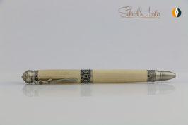 »Yoga Pen«, Magnolie, Antik Zinn