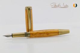 »Grande« Füller Padouk, Bronze, Schmidt Tintensystem - verkauft -