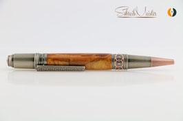 »Celtic Fairy« Dreh-Kugelschreiber, Weichsel XG 2farbig, Antik-Kupfer, polierter Stahl