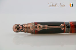 Skull-Pen, Lucifer, Dark Soul, Antik Kupfer