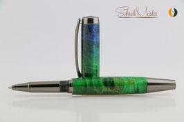 »Grande«, Birke, Green&Blue, Gun Metal