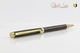 »Finley« Golf Pen, Ziricote, Gold