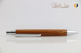 »Libby« Klick-Kugelschreiber, Pfirsich, natur