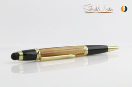 »Merlin« TouchPen Olive, Gold-Black Chrom