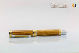 »Aurin« Olive Füller Dark-Yellow mit Bock Tintenleitsystem - verkauft -