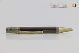 """»Alva« Dreh-Kugelschreiber, """"Braunkohle"""", 11. Mio Jahre alt, natur, Bronze"""
