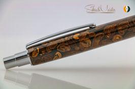 »Libby« Klick-Kugelschreiber II, aus echten Kaffeebohnen