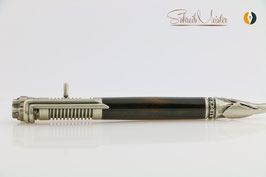 »Biker Stift«, Fire-Flammed Oak, Antik Silber
